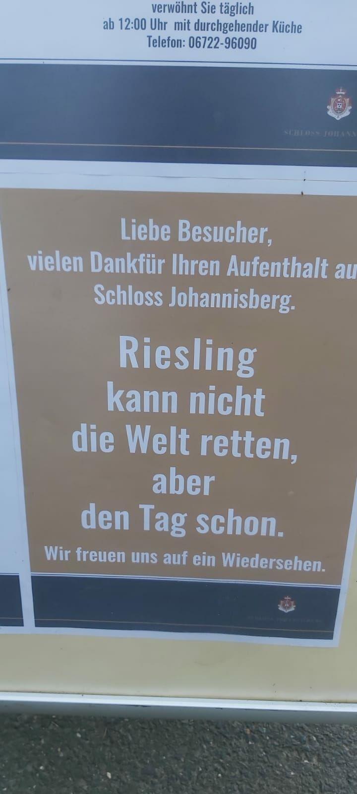 Weinzeit Riesling aus Rhein