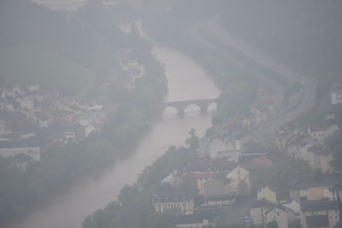 Река Наэ - приток Рейна