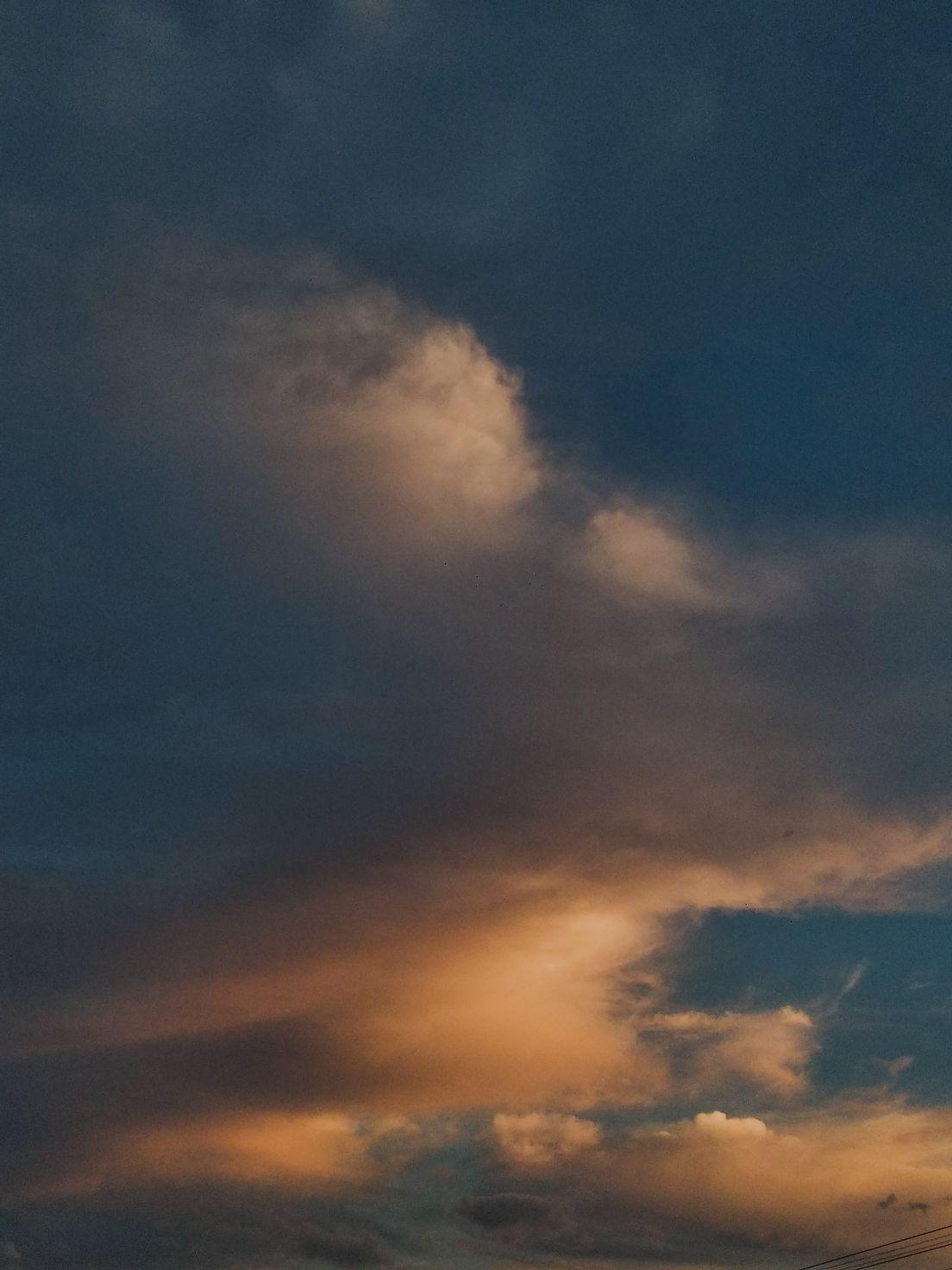 Закатное небо в Приднестровье 😊