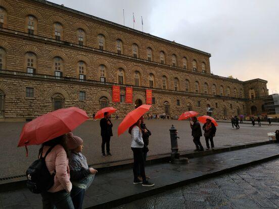 Дождь во Флоренции
