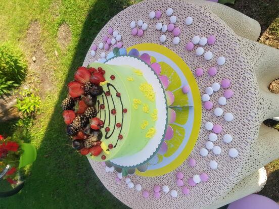 Тортик на 37й день рожденья 😄