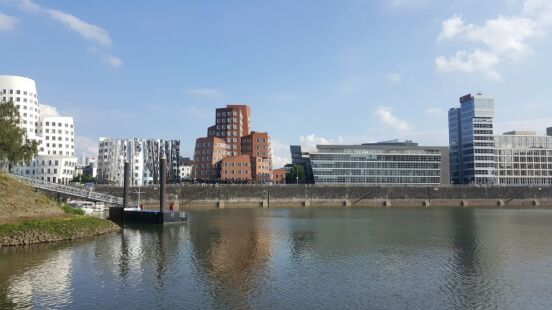 Bootsfahrt in Düsseldorf