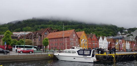 Норвегия город Берген