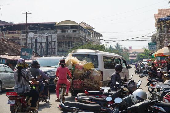 В Таиланде все виды транспорта задействованы