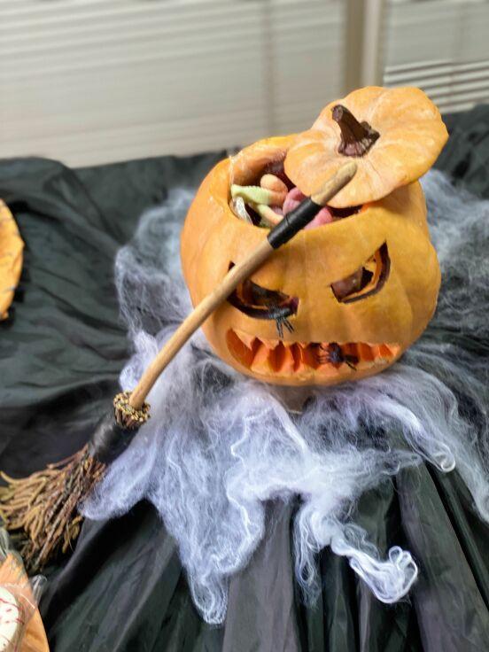 Halloween spirit!