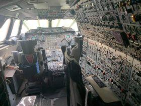 Кабина самолёта Канкорд 😨