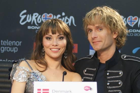 sevenpics presents - Дания в 2010 на Евровидение