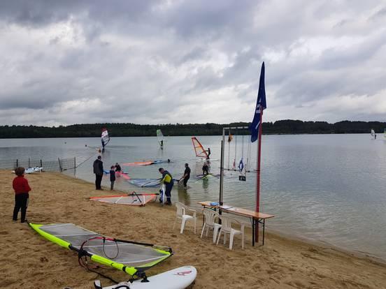 sevenpics presents - Windsurfing Jux Regatta an Silbersee II