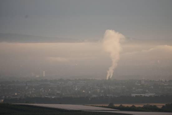 Туман и трубы