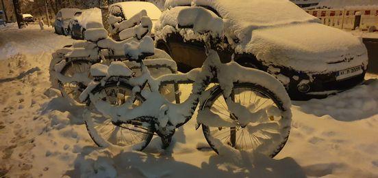 sevenpics presents - Зимние пейзажи велосипедов