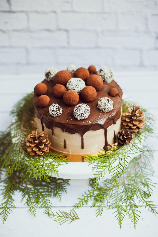sevenpics presents - Новогодий торт)