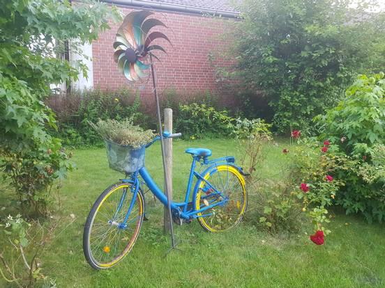 sevenpics presents - ein buntes Fahrrad