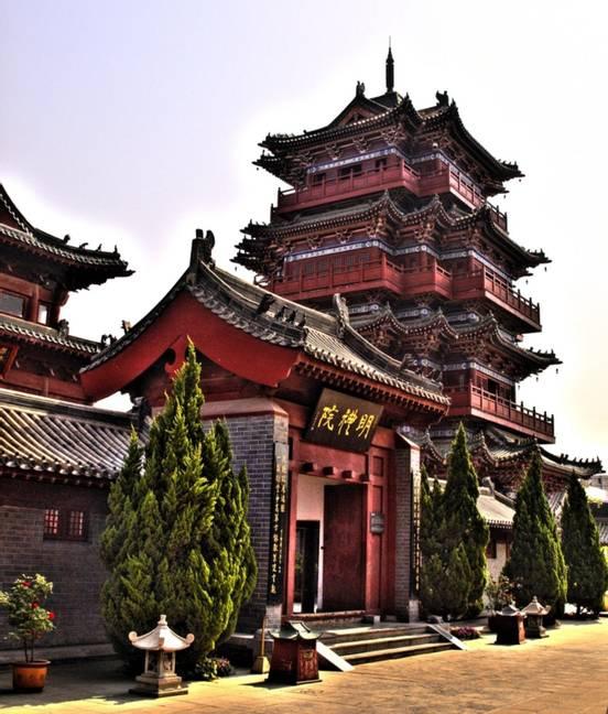 sevenpics presents - Храм Сайю, Тайвань