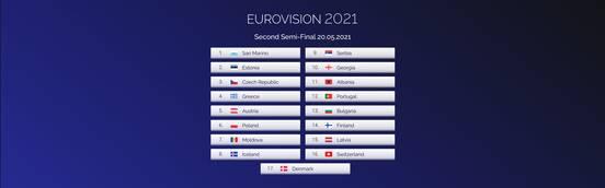 sevenpics presents - Eurovision Song Contest 2021