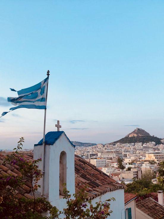 sevenpics presents -  Main Athens Historical Landmarks