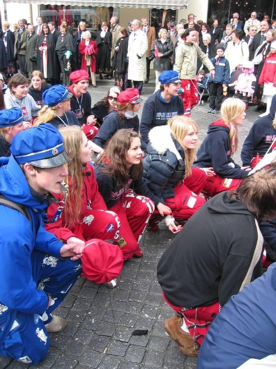 Russefeiring in Norway