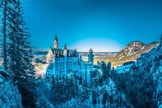 sevenpics presents - Castles Neuschwanstein and Hohenschwangau