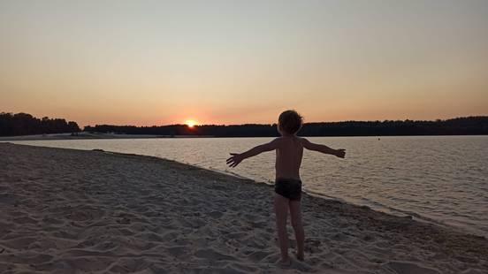 sevenpics presents - Закат на озере
