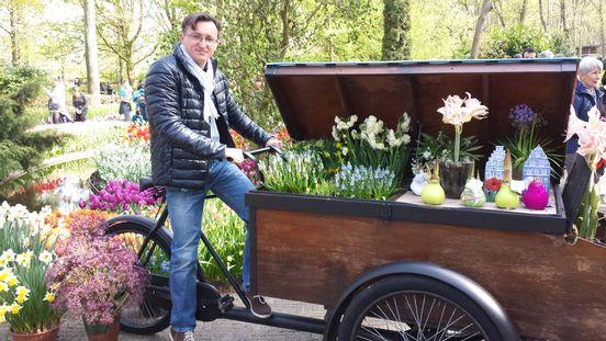 sevenpics presents - Вело- Доставка цветов из Нидерландов 😀