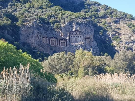 sevenpics presents - Дальян: черепаший рай, ликийские гробницы
