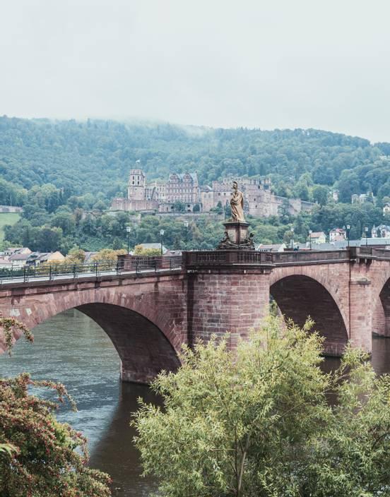 sevenpics presents - The allure of the small University town of Heidelberg