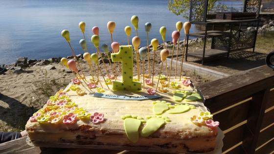 sevenpics presents - Тортик на первый день рождения