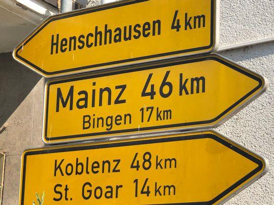 Кобленц - город, где встречаются Мозель и Рейн