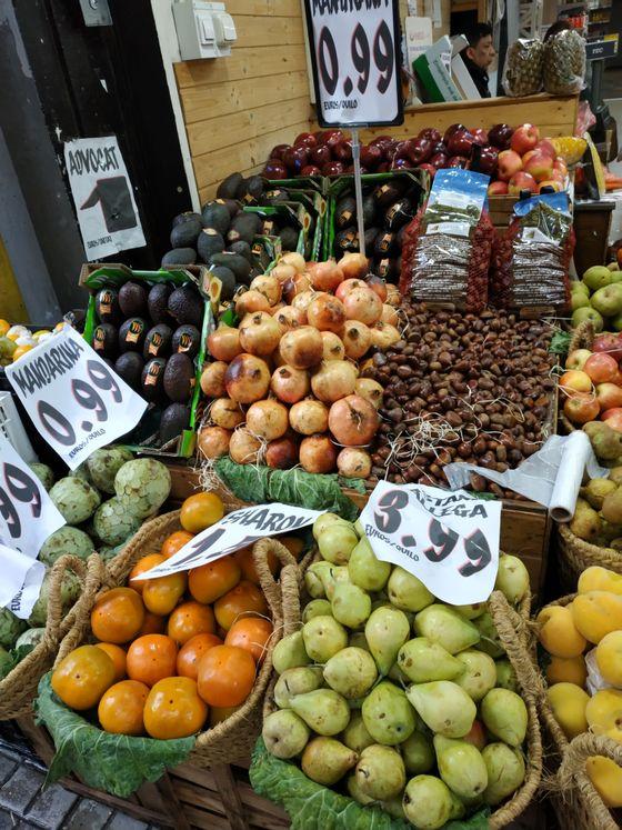 sevenpics presents - Рынок Барселоны