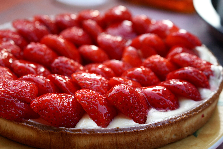 Национальный день клубничного пирога