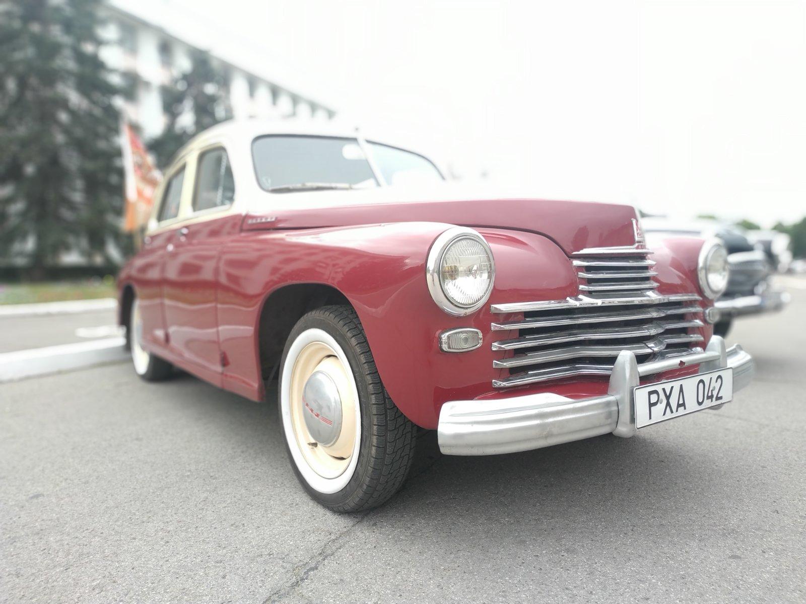 Выставка ретро машин в Бендерах