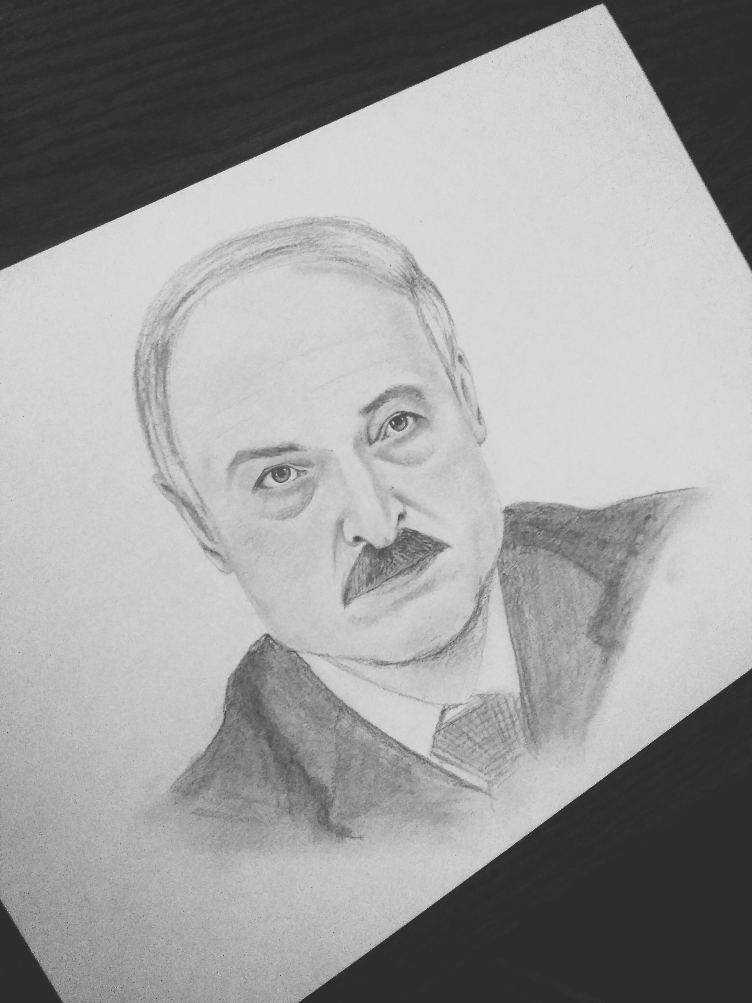 Мой первый портрет