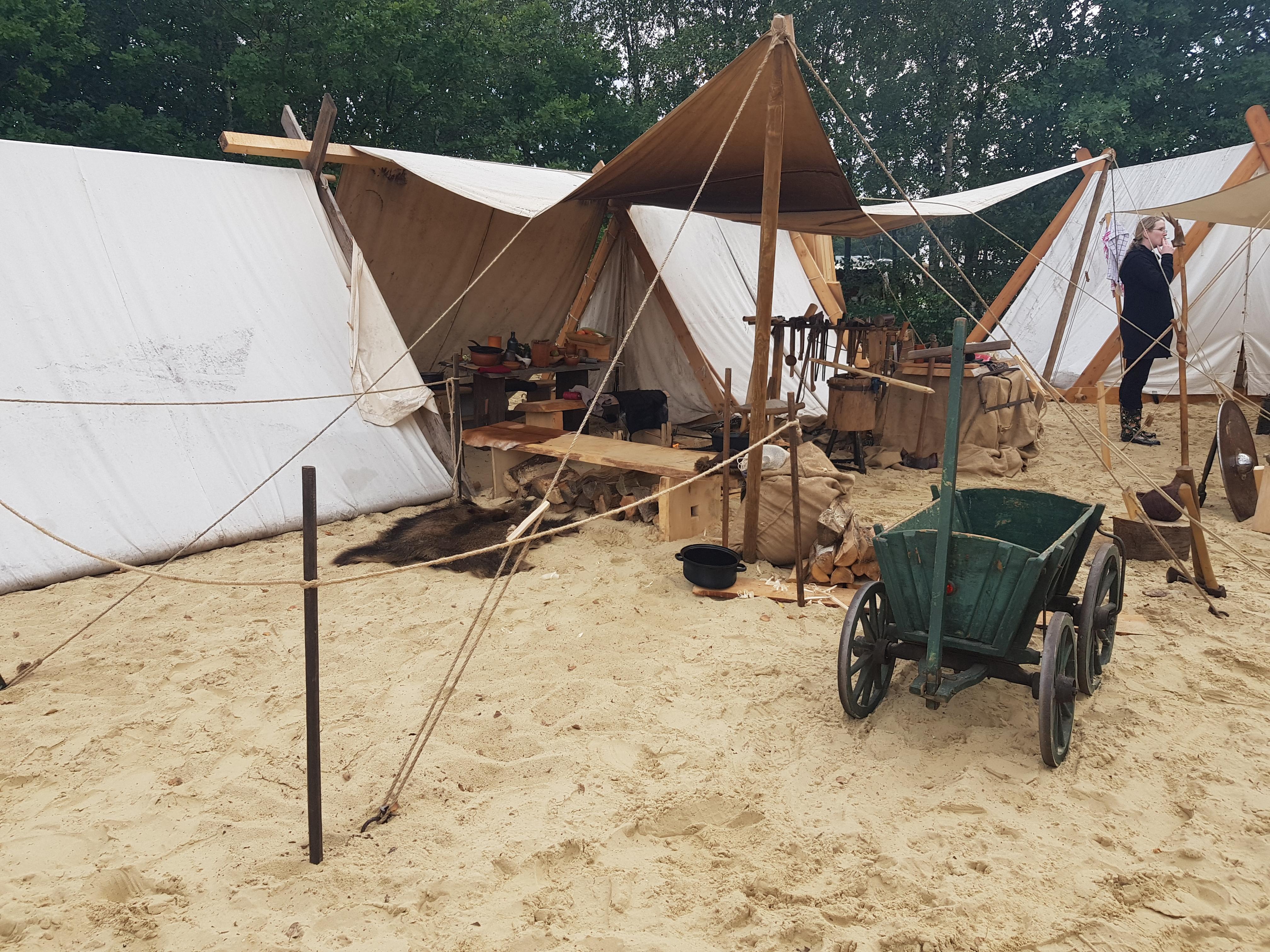 Wikingerlager in Haltern am Silbersee
