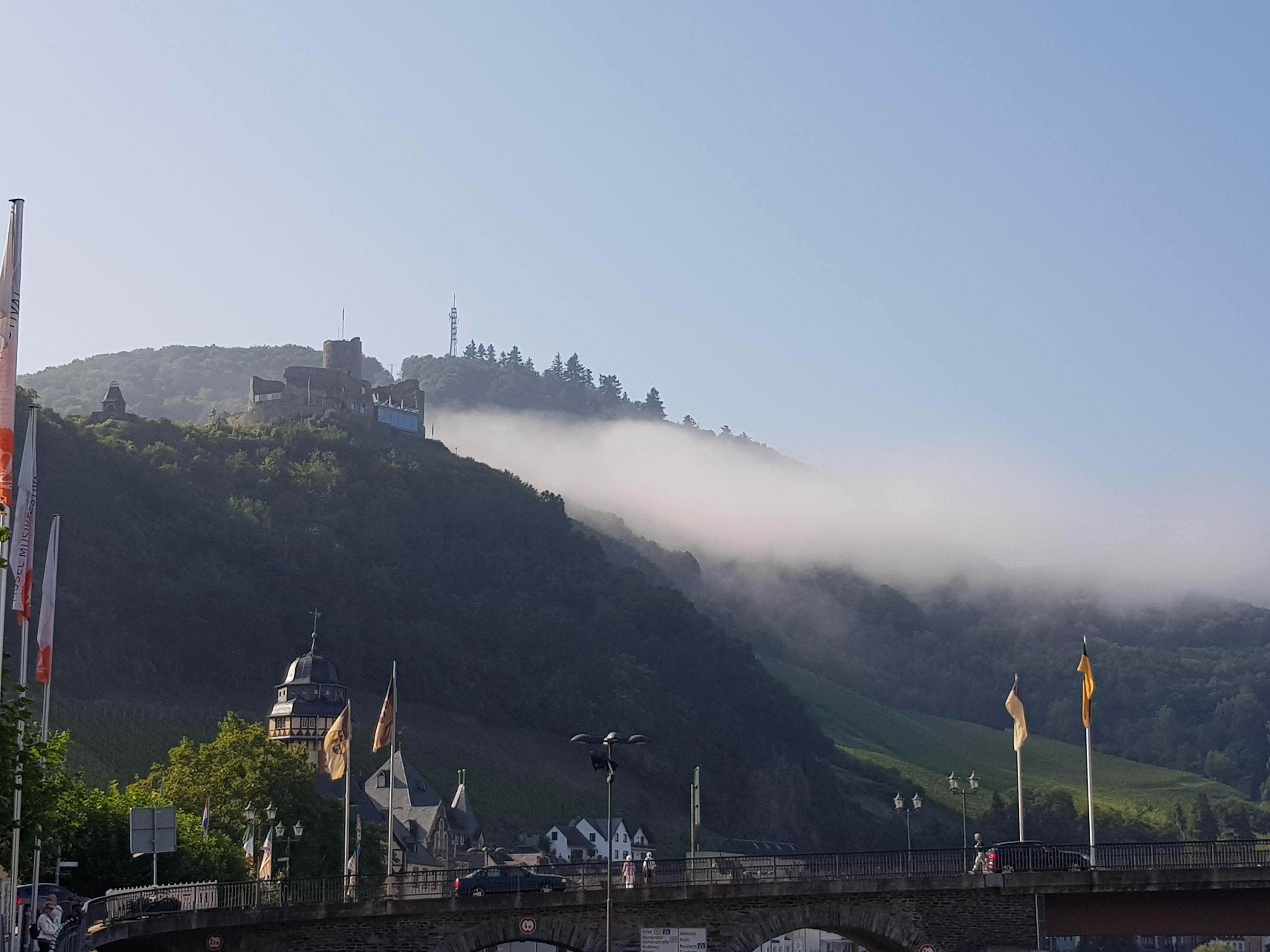 Бернкастель- Кус в тумане