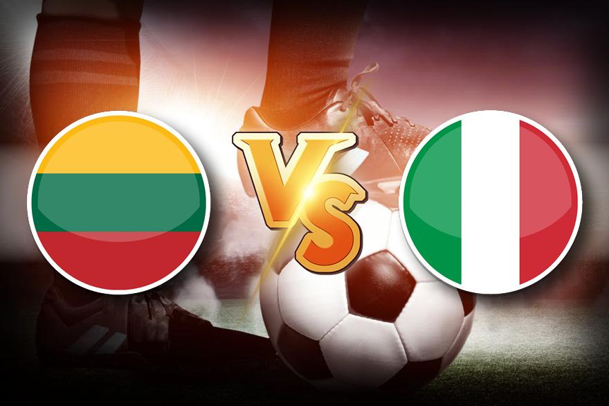 Италия VS Литва