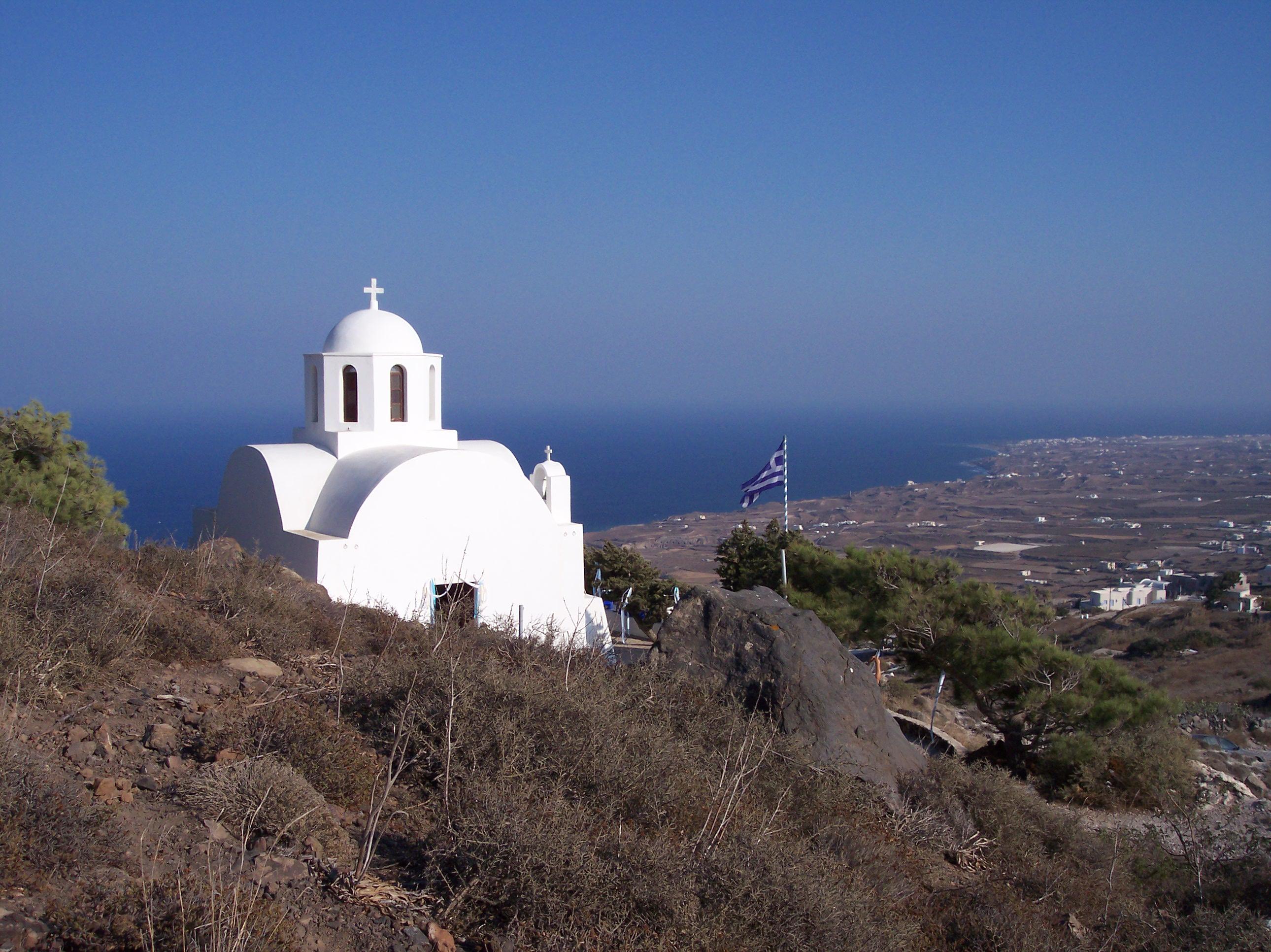 Santorini. Orthodox Church.