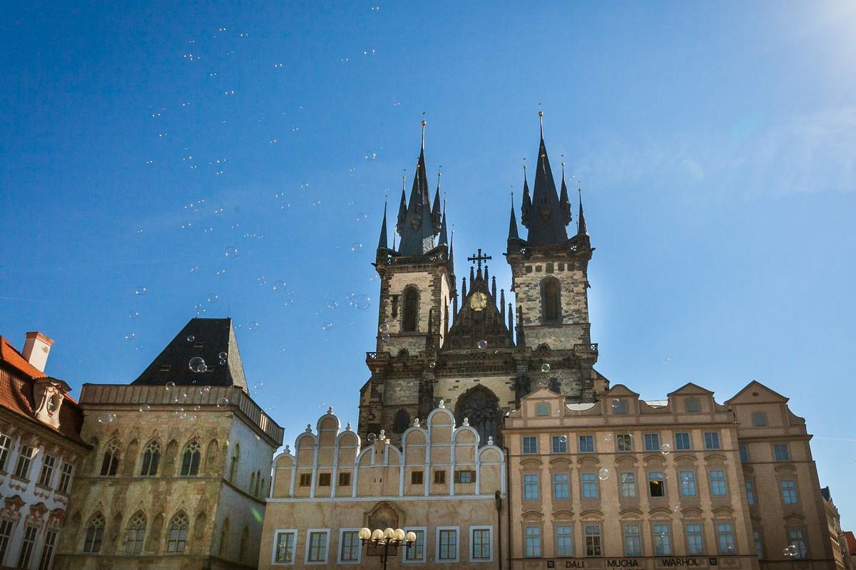 Солнечная Прага