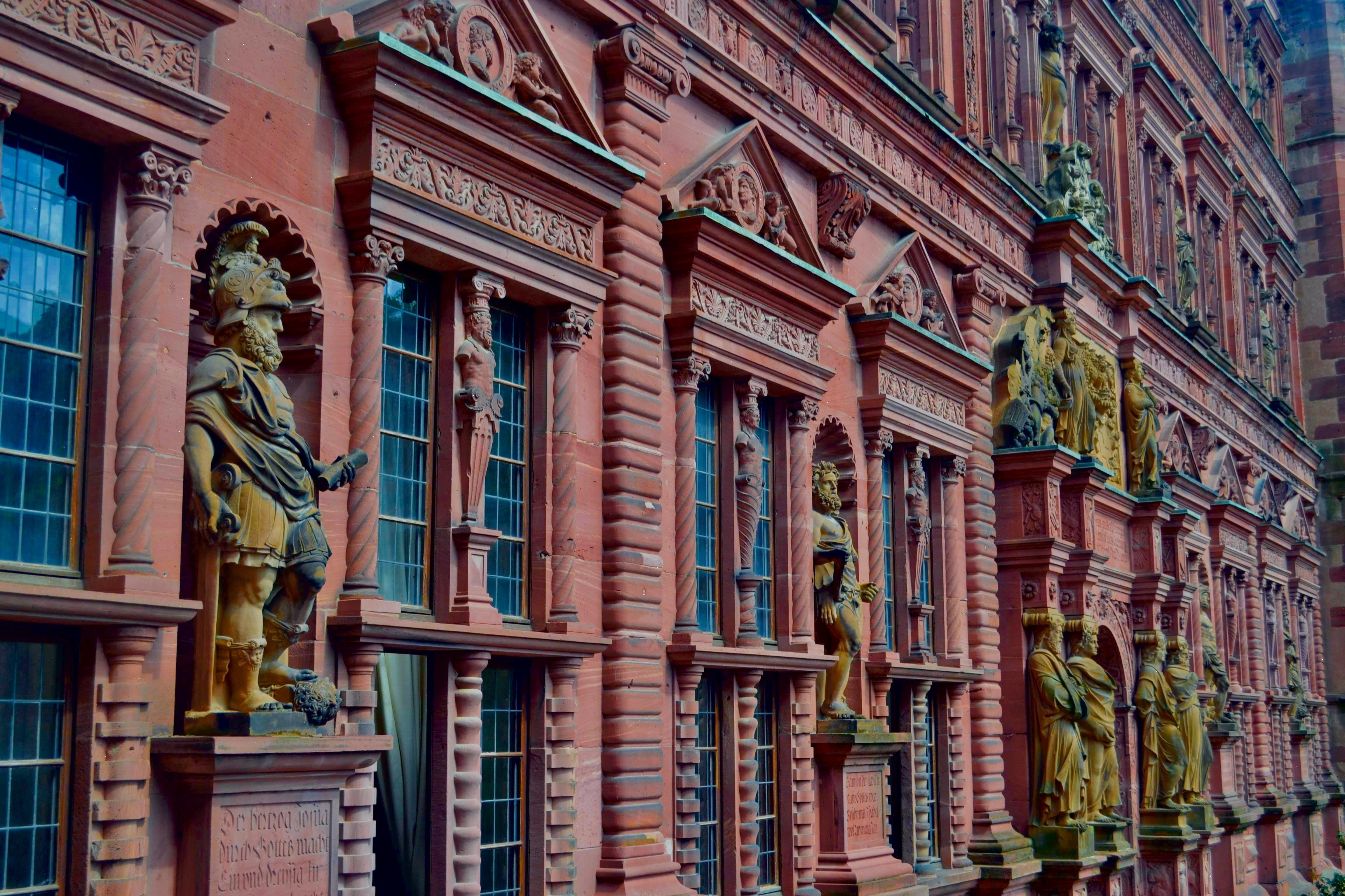 Руїни замку Гейдельберг