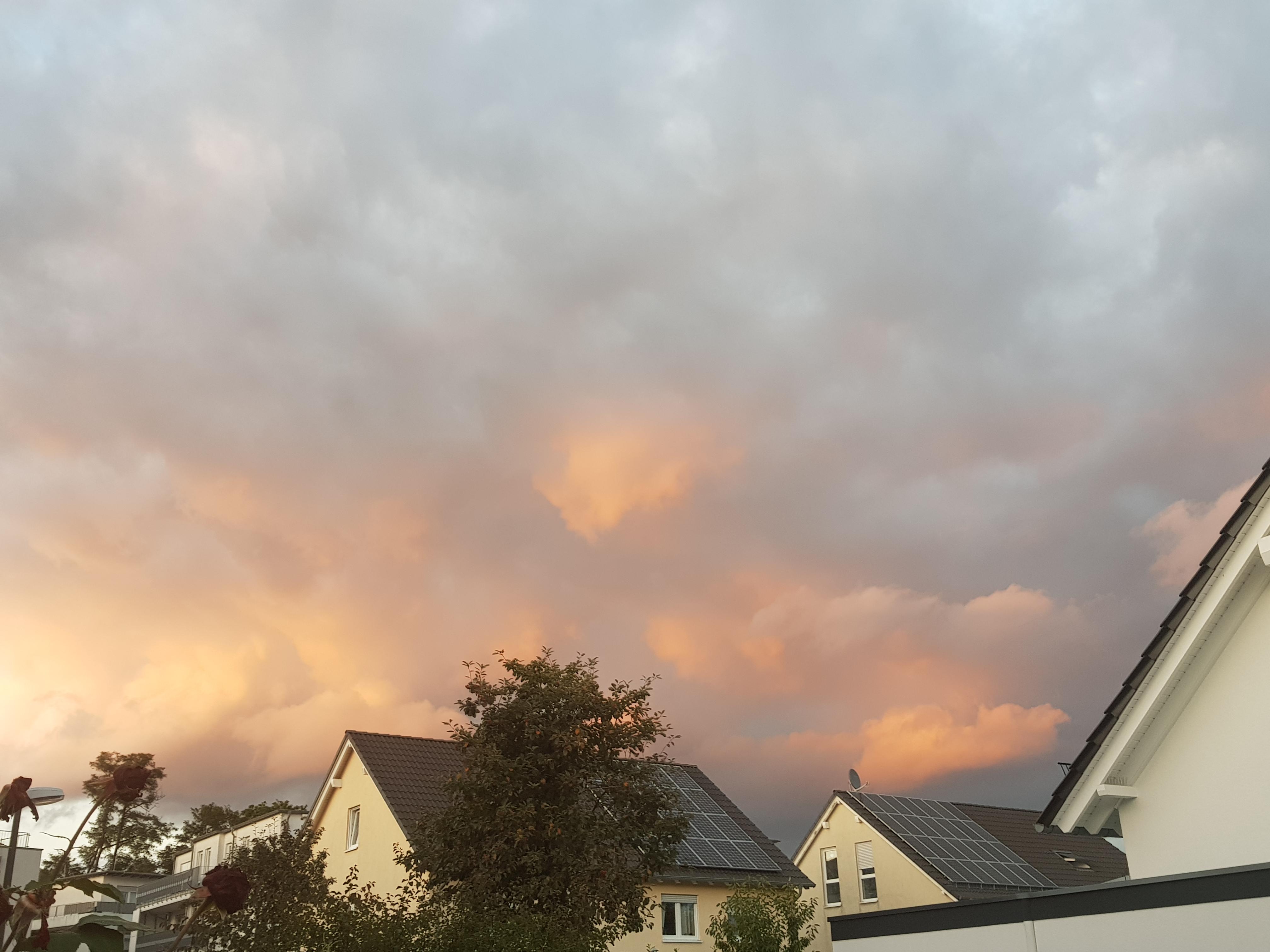 Herbsthimmel über Recklinghausen