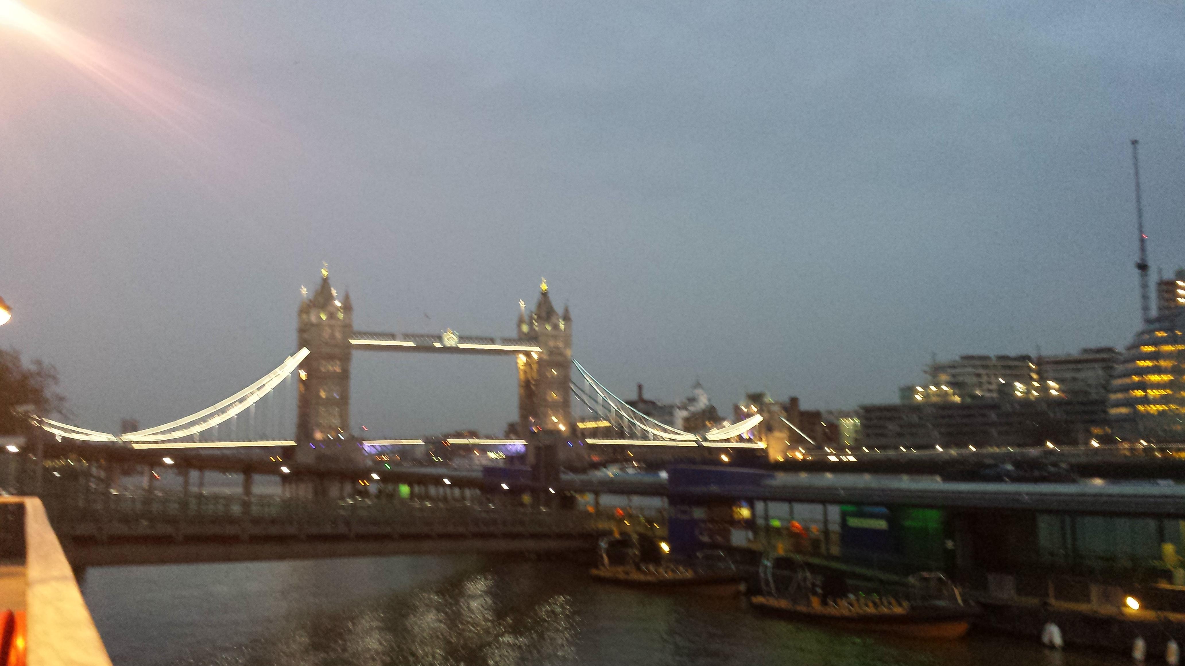 Тауэрский Мост в Лондоне или Tower Bridge