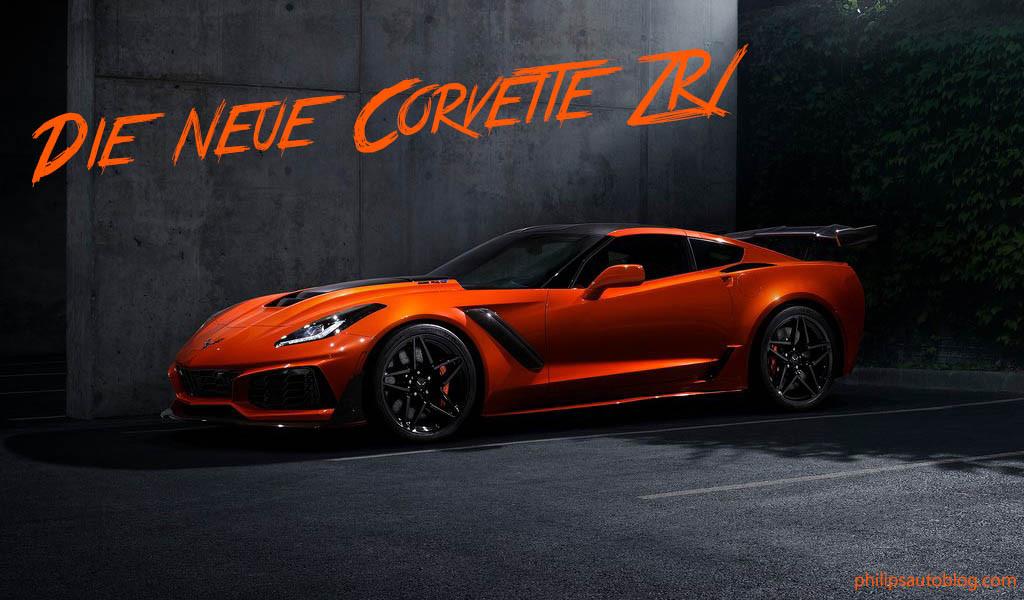 Die neue Corvette ZR1 – ein echtes Biest