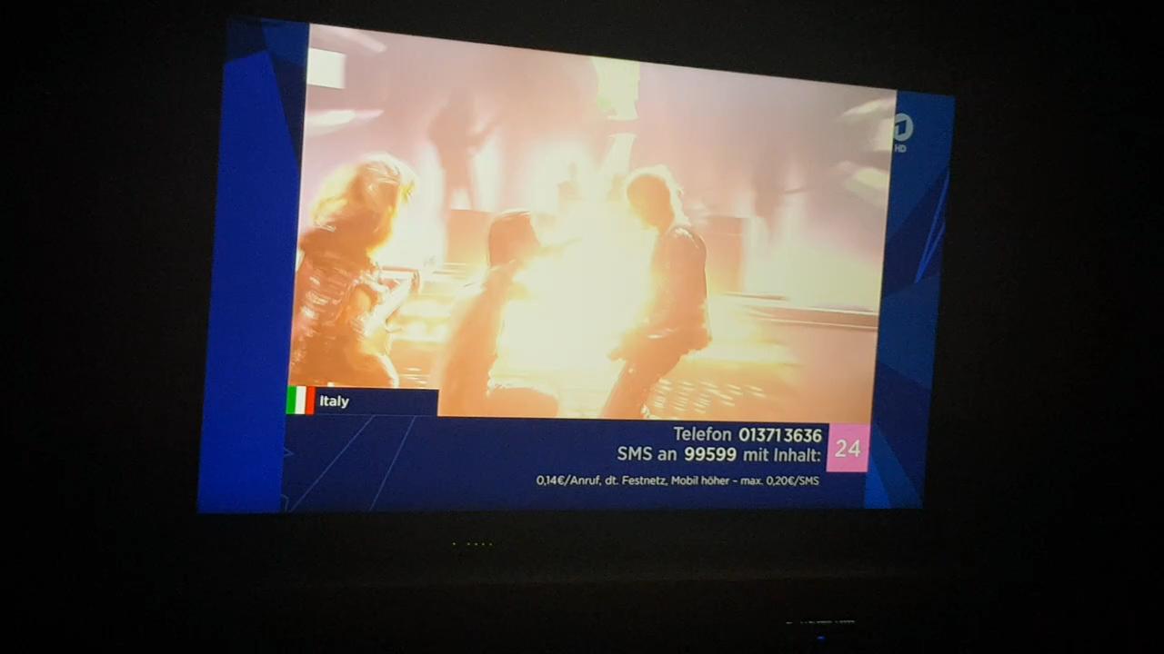 Голос за Италию 👍