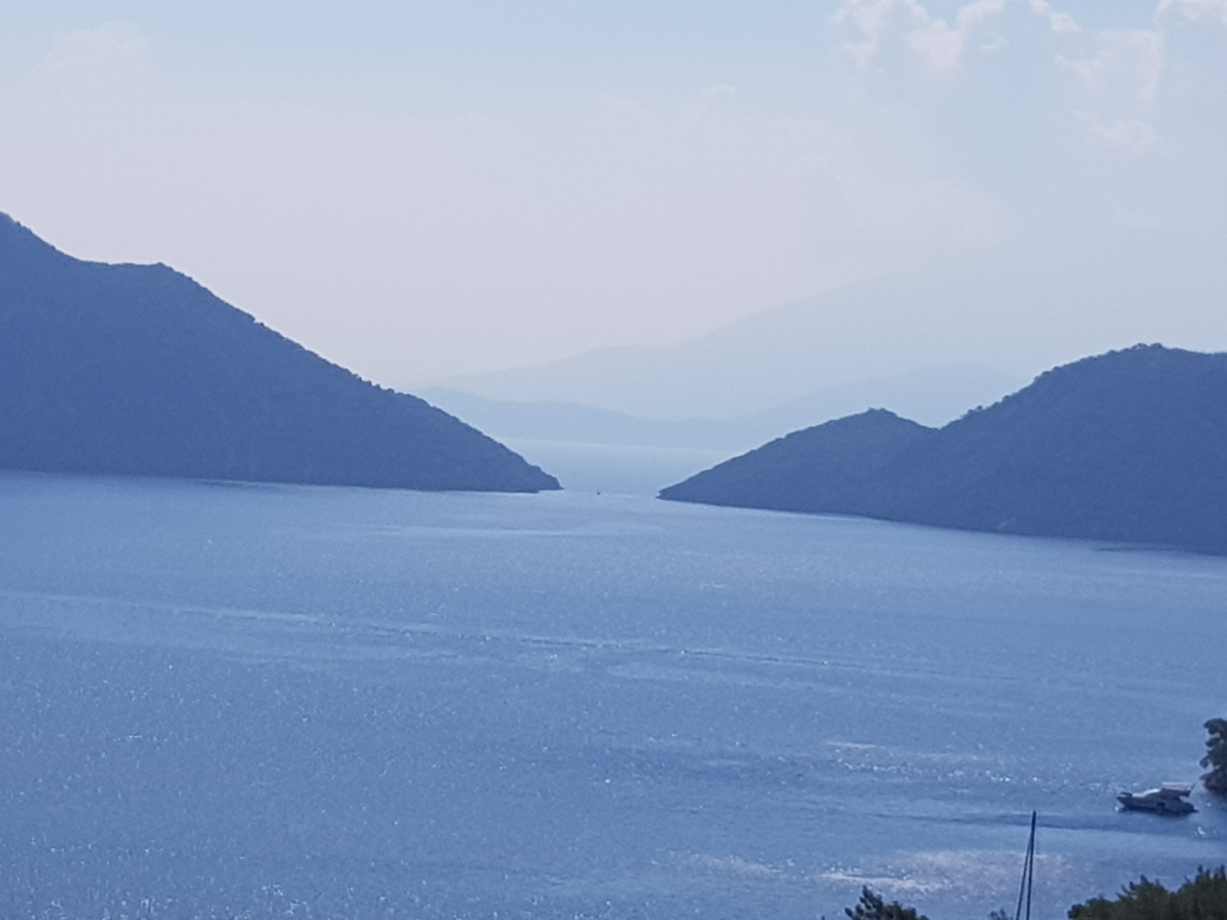 Море и горы в Турции, регион Даламан