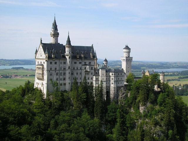 Замок Нойшванштайн,Бавария,Германия