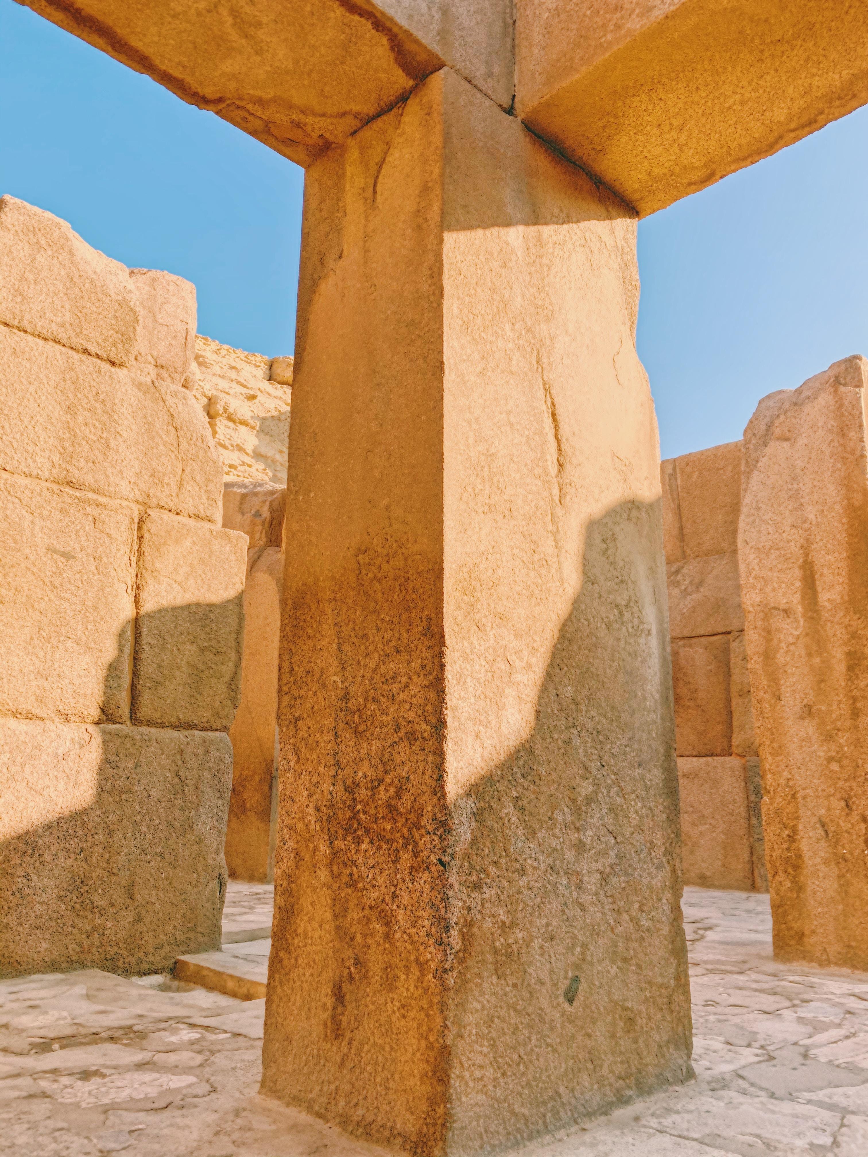 Східчаста піраміда в Сакарі, Єгипет