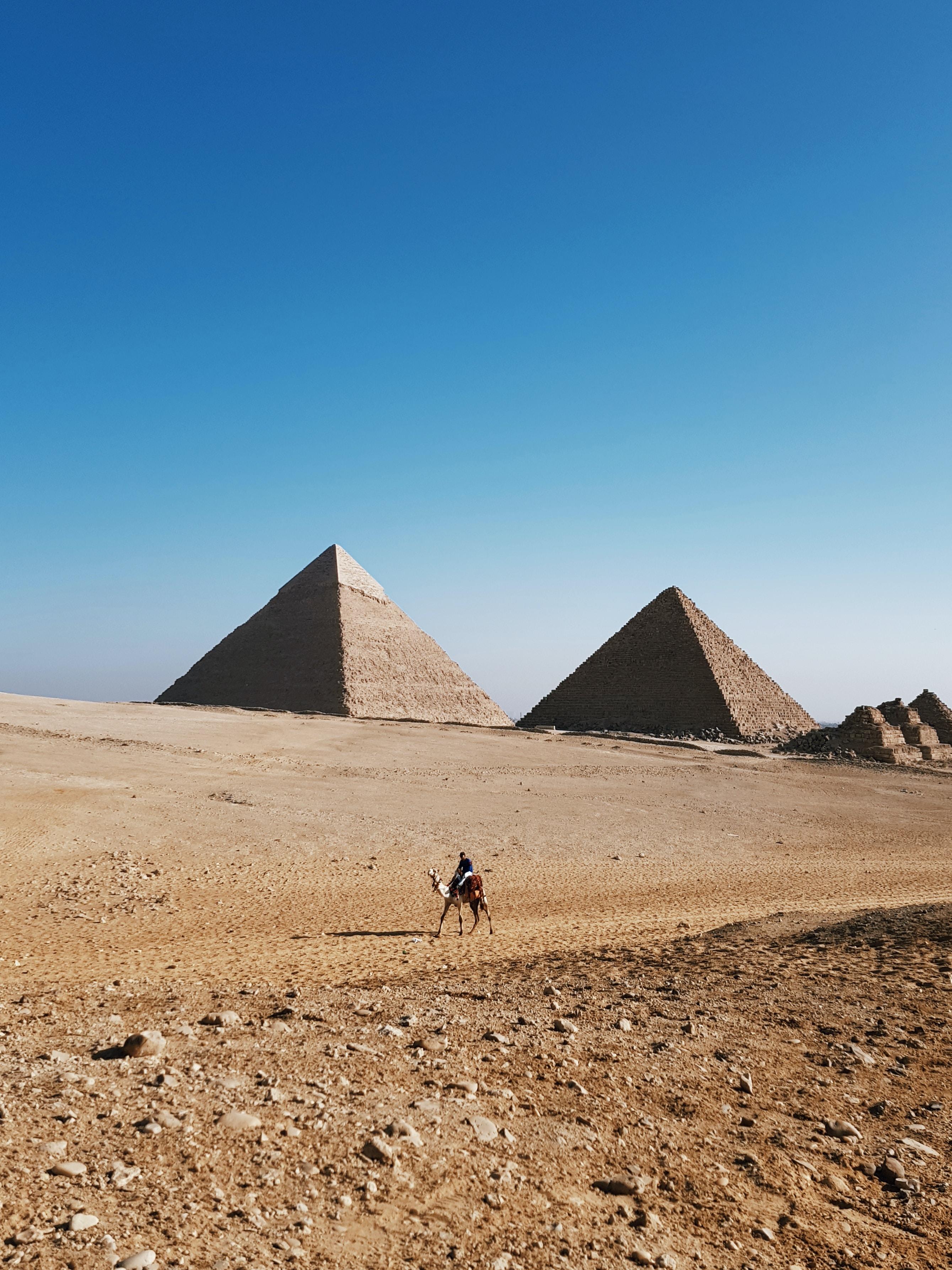 Die Stufenpyramide in Saqqara, Ägypten