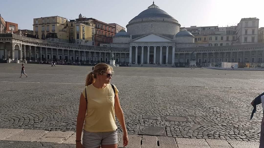 Италия,Неаполь и вулкан Везувий